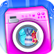 Washing Clothes Laundry Girls by Hammer Tank