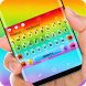 Colorful rainbow Keyboard by Sexy Theme for Smart Phone