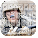 Army Soldier Keyboard by Keyboard Theme Factory