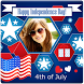 Happy Independence Day Frames by 10/4 Entertainment