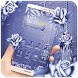 Romantic Blue Roses Theme by Theme Designer