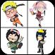 Guess Character Ninja Anime by XRacing Studio