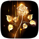 Gold Rose Live wallpaper by HD Live Wallpaper Developer