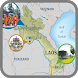 Map of Laos – Travel