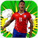 Chilean soccer players - guess football Chile