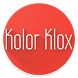 Kolor Klox - Screen saver with colorful clock !