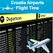 Croatia Airports Flight Time by AsoftTech Solutions