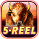 Buffalo 5-Reel Deluxe Slots by Fox Cub