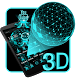 3D Dynamic Hologram Projection Launcher Theme by Hello Keyboard Theme