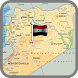 Map of Syria by MAP Directions Online