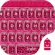 Pink Cheetah Theme Keyboard by Typany Keyboard Theme Studio