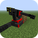 Mod Rail Turrets for MCPE by Undisputed GeGe Games