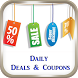 Daily Deals & Coupons India by DazzDroid