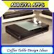 Coffee Table Design Ideas by Arroya Apps