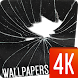 Cracked screen 4K by Ultra Wallpapers