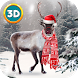 Christmas Deer Animal Survival by Wild Animals Life