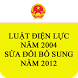 Luat Dien luc 2004 SDBS 2012 by saokhuedl