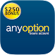 anyoption - $250 bonus account by MobileFly Group