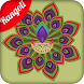 New Rangoli Design by Born Developer