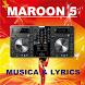 Maroon 5 songs by Khanza Developer