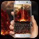 Fire throne keyboard by Bestheme Keyboard Designer 3D &HD