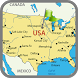 Map of Usa by MAP Directions Online