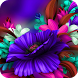 Purple Bloom:Flower launcher for Samsung S6 theme by Best theme workshop