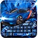 Neon tachometer dashboard typewriter theme by Mobile themes by Pixi