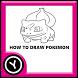 How to draw pokemon by YudiYuventus