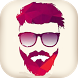 Beard Photo Editor - Beardman hairstyle by Houssamos (Screen Recorder app)