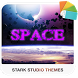 SPACE Xperia Theme by Stark Studio