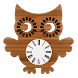 Owl Clock Widget by FUN DROID