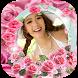 กรอบรูปดอกกุหลาบสีชมพู กรอบรูปดอกไม้สวยๆใหม่ๆ ฟรีๆ