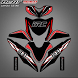 Motorcycle Sticker Design by sandroid
