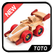 Wooden Toys Design by totodroid