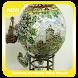 fabolous styrofoam Glass Mosaic Spheres