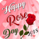 2018 Rose Day Greetings - Hindi English Wishes by Murlidhar App Studio