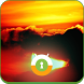 Sunset Wall & Lock by Mobaba Labs