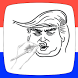 How To Draw Donald Trump by Apps By Shamrock