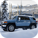 FJ 4x4 Cruiser Snow Driving by Red Helmet Games