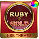 Ruby & Gold Theme for Xperia by NotSoBright