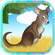Baby kangaroo run by janah