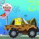 Super Sponge-bob's Car World Adventure by Happy Free Games