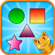 QCat - toddler shape game by CodingCake