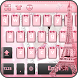 Pink Paris Keyboard Theme by Keyboard Dreamer
