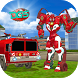 Real Robot Firefighter Truck : Robot Super Truck by Dictator Game Studio