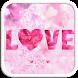 Love Emoji Keyboard Theme by Colorful Art