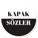 Kapak Sözler by Recci