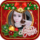 christmas photo frames by mini miew
