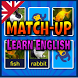Match Up Learn English Words -Vocabulary Card Game by Wobble Monkey Studios